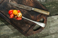 Variety of cherry tomatoes in spoon - PhotoDune Item for Sale