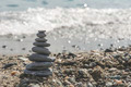 Stacked sea stones - PhotoDune Item for Sale