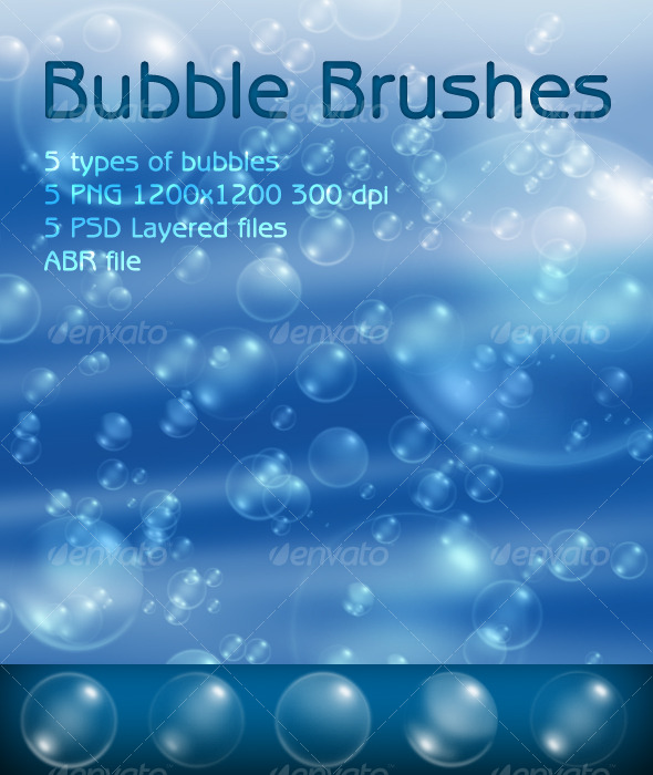 GraphicRiver Bubble Brushes 124127