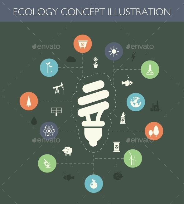 GraphicRiver Ecological Composition 9766313