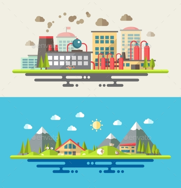 GraphicRiver Ecological Concept 9766316