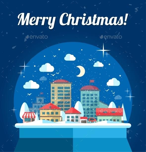 GraphicRiver Christmas Illustration 9766326