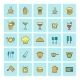 Food Icons - GraphicRiver Item for Sale