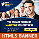 Corporate HTML5 Animated Banner 2