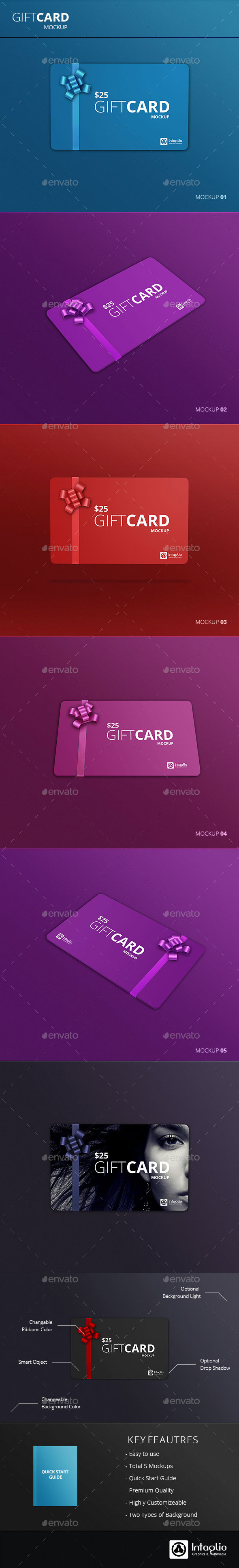 Gift Card Mockup v2 - Miscellaneous Print