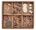 rotary tools in rustic boc - PhotoDune Item for Sale