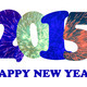 2015 Happy New Year text on white background - PhotoDune Item for Sale