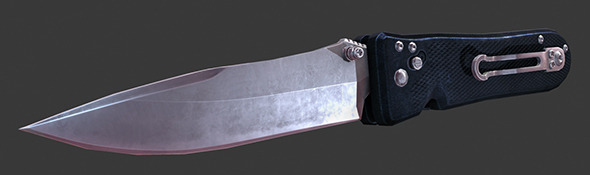 Army Knife - 3DOcean Item for Sale