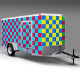 10 Foot Enclosed Trailer Wrap Mock-up - GraphicRiver Item for Sale