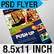 Workout Flyer: Push-Up Gym - GraphicRiver Item for Sale