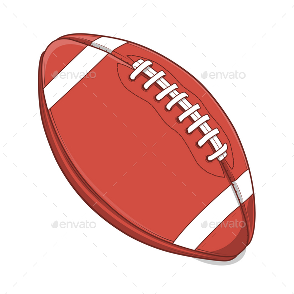 GraphicRiver American Football Ball 9767420