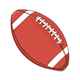 American Football Ball - GraphicRiver Item for Sale