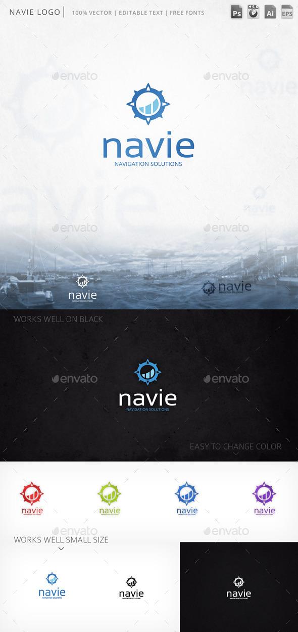 GraphicRiver Navie Logo 9767423