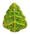 Crhistmas Tree Cookie with sprinkles - PhotoDune Item for Sale