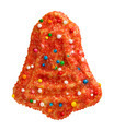 Christmas Bell Cookie with sprinkles - PhotoDune Item for Sale