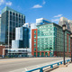 Modern buildings in The financial district in Boston - USA - PhotoDune Item for Sale
