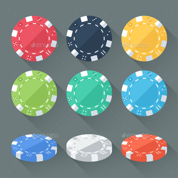 GraphicRiver Gambling Chips 9767545