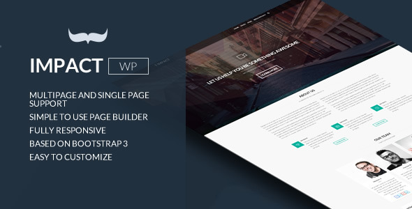 Download Impact - Multipurpose Single/Multi Page Theme nulled download