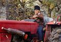 Senior farmer plowing - PhotoDune Item for Sale