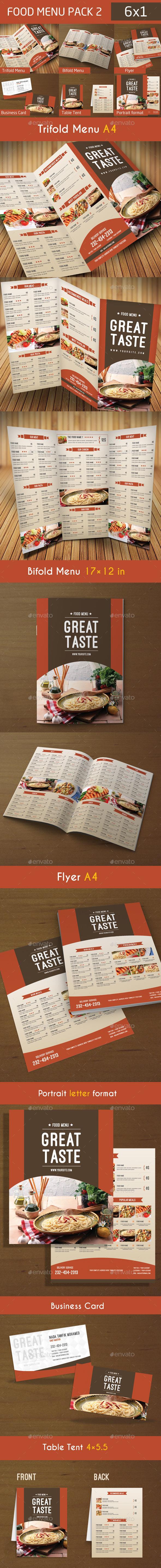 GraphicRiver Food Menu Pack 2 9767644