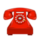 Vintage Red Phone - GraphicRiver Item for Sale