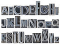 alphabet in mixed metal type - PhotoDune Item for Sale