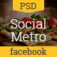Social Metro Facebook Timelines Covers - GraphicRiver Item for Sale