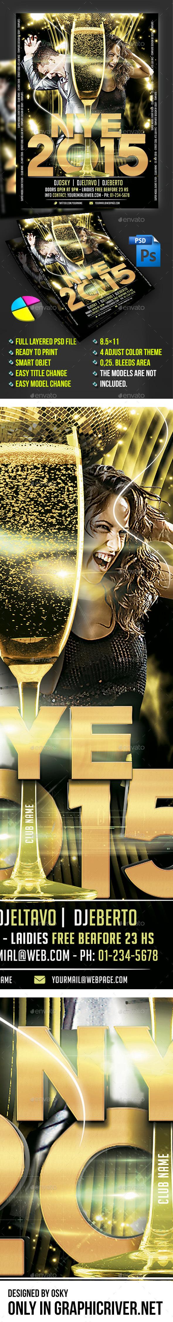 GraphicRiver New Year Eve VI 9716495