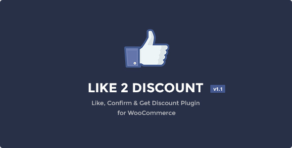 Like 2 Discount - Coupons for Likes - CodeCanyon Item for Sale