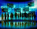 Business People Stock Exchange Finance Global Concept