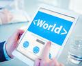 World Worldwide Global Community Humanity Concept