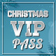 Christmas style VIP PASS - GraphicRiver Item for Sale