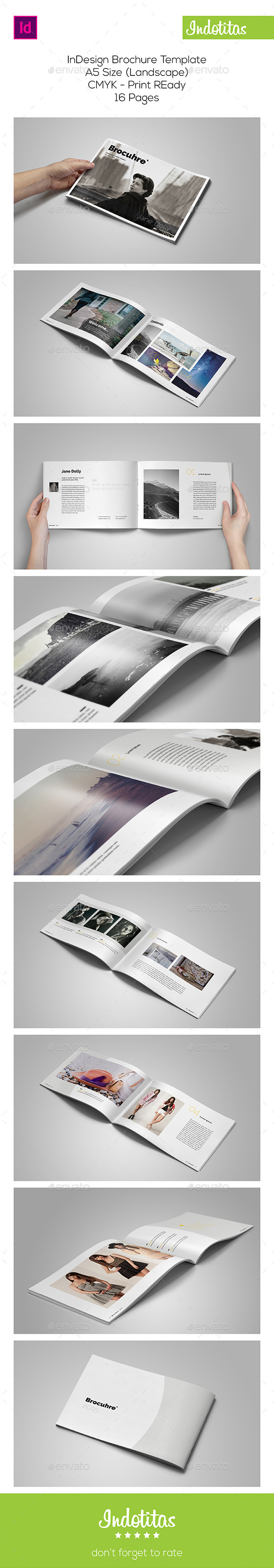 GraphicRiver A5 Portfolio Catalog Template 9768974