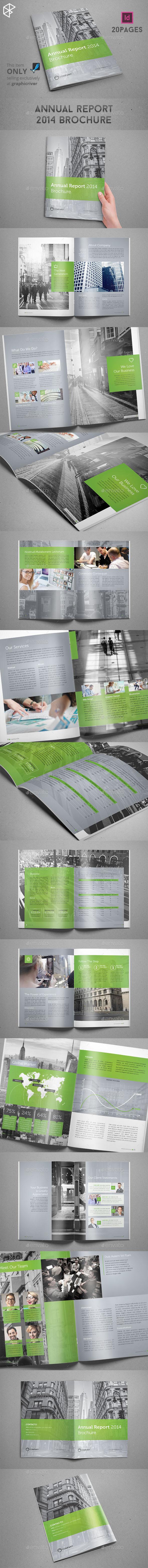 GraphicRiver Annual Report 2014 Brochure 9769019
