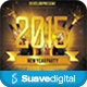 2015 New Year Party Flyer - GraphicRiver Item for Sale