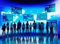 Business People Stock Exchange Finance Concept