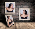 Woman trapped in frames. - PhotoDune Item for Sale