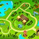 Map of an Amusement Theme Park - GraphicRiver Item for Sale