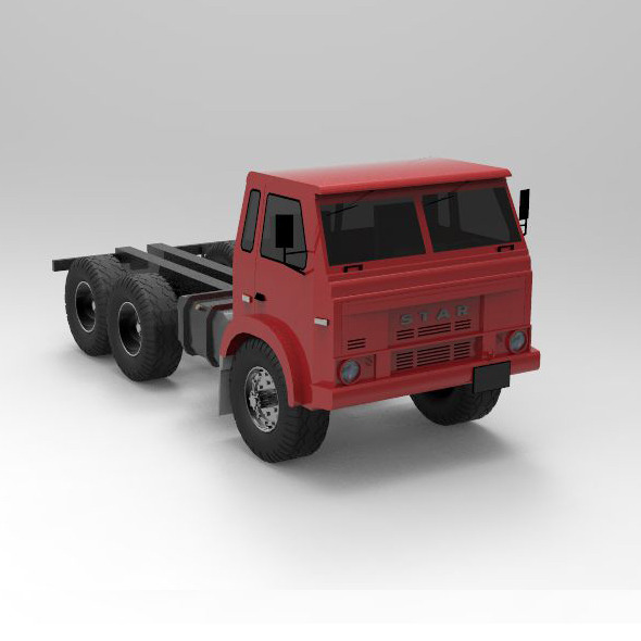 Concept Car Star 266 Truck - 3DOcean Item for Sale