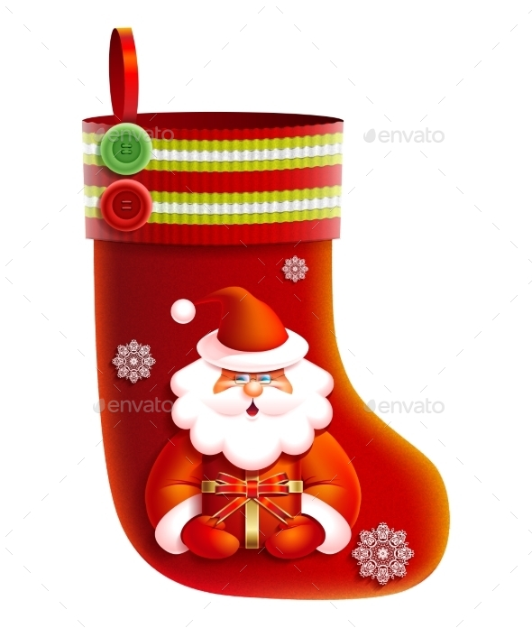 GraphicRiver Christmas Boot 9770199