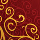 Decoration on a Red Background - GraphicRiver Item for Sale