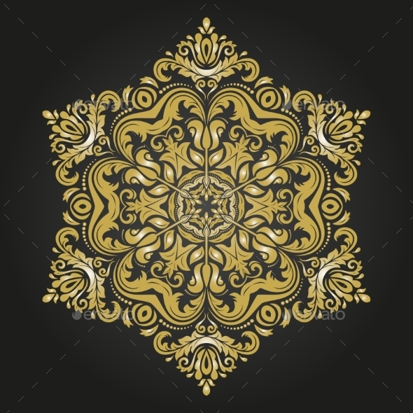 GraphicRiver Orient Vector Pattern 9770684