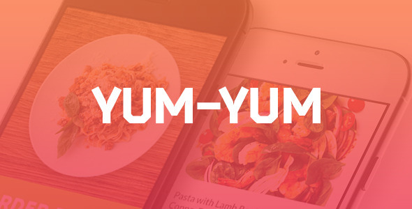 ThemeForest Yum-Yum Restaurant PSD Template 9739586