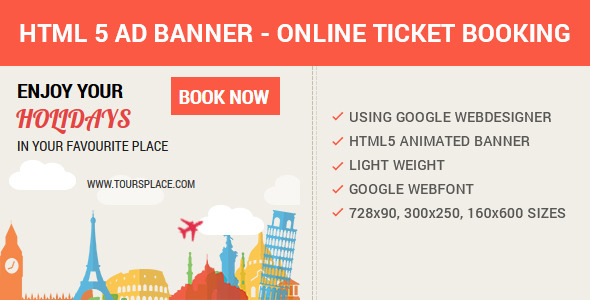 CodeCanyon HTML5 Animated AD Banner 9721747