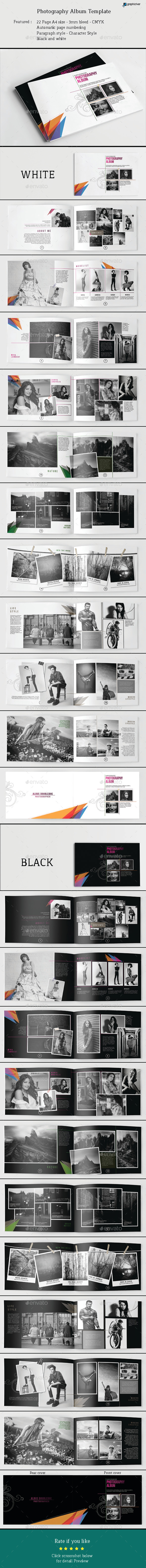 Photography Album Template