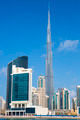 Vertical view of Dubai skyline - PhotoDune Item for Sale