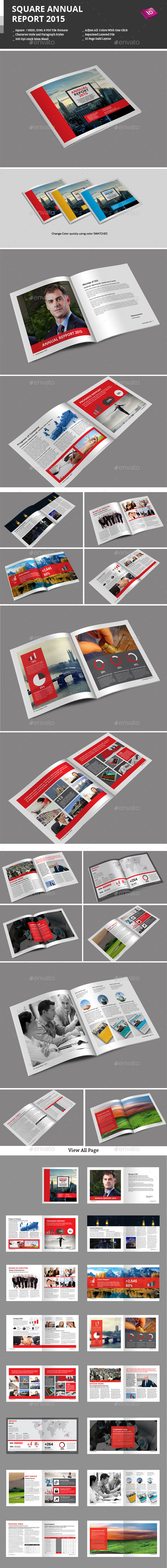 GraphicRiver Square Annual Report 2015 9771998
