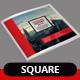 Square Annual Report 2015 - GraphicRiver Item for Sale