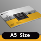 Minion A5 Landscape Brochure Template - GraphicRiver Item for Sale