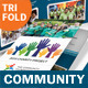 Community Service Trifold Brochure - GraphicRiver Item for Sale